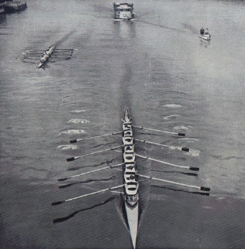 Le match Rowing/Marne en 1937